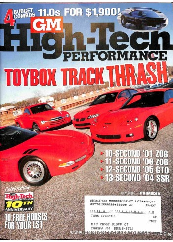 GM High Performance, July 2006