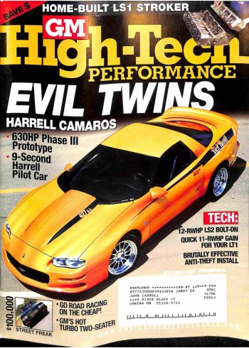 Cover Print of GM High Performance, September 2006