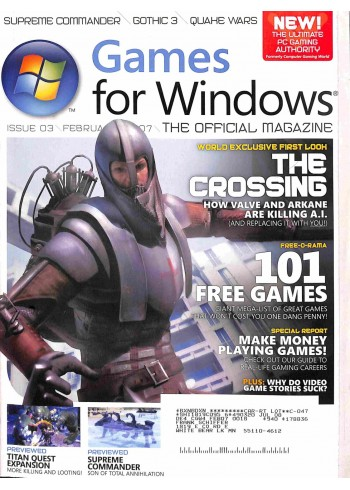Games for Windows, February 2007