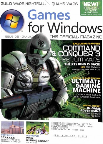 Games for Windows, January 2007