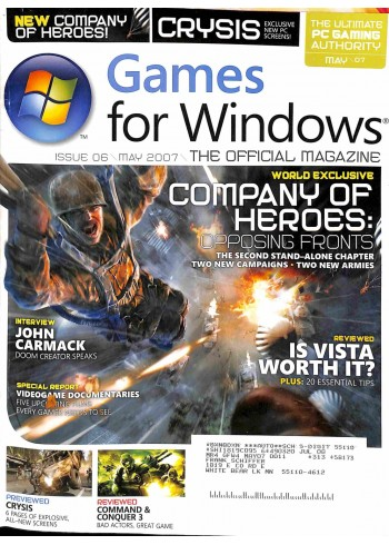 Games for Windows, May 2007