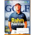 Cover Print of Golf, October 2017