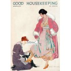 Good Housekeeping, March, 1917. Poster Print. Coles Phillips.