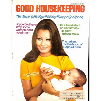 Cover Print of Good Housekeeping, November 1969