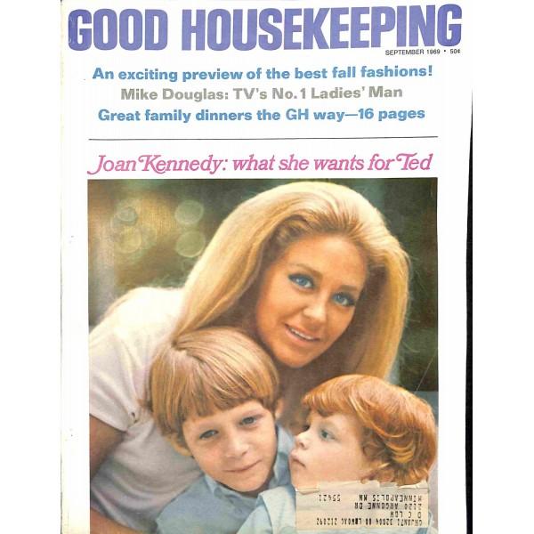 Good Housekeeping: Cover Print Of Good Housekeeping, September 1969