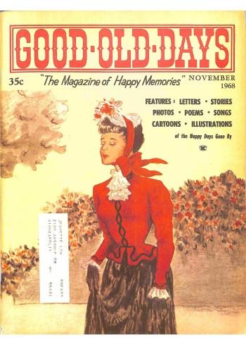 Cover Print of Good Old Days, November 1968