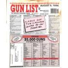 Cover Print of Gun List, August 9 1996