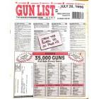 Cover Print of Gun List, July 26 1996