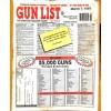Cover Print of Gun List, March 7 1997