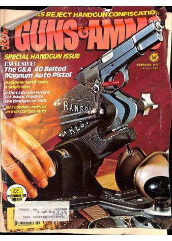 Guns and Ammo, February 1977