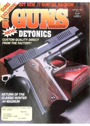 Cover Print of Guns, August 1991