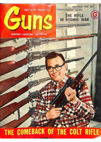 Cover Print of Guns, December 1958