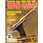 Cover Print of Guns and Ammo, July 1974