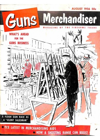 Cover Print of Guns and Hunting Goods Merchandiser, August 1956