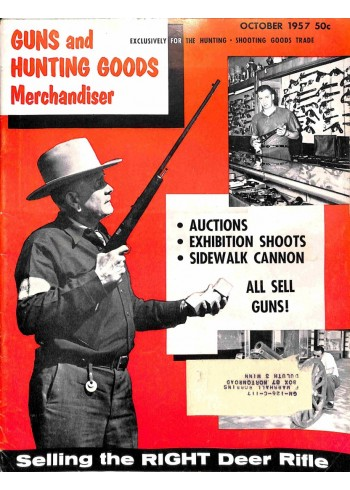 Cover Print of Guns and Hunting Goods Merchandiser, October 1957