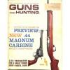 Cover Print of Guns and Hunting , May 1961