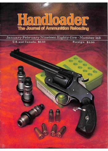 Handloader, January 1985