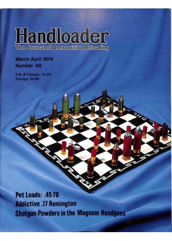 Cover Print of Handloader, March 1974