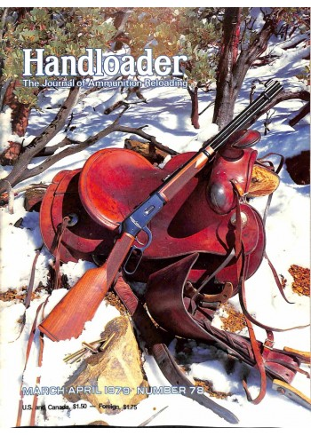 Cover Print of Handloader, March 1979