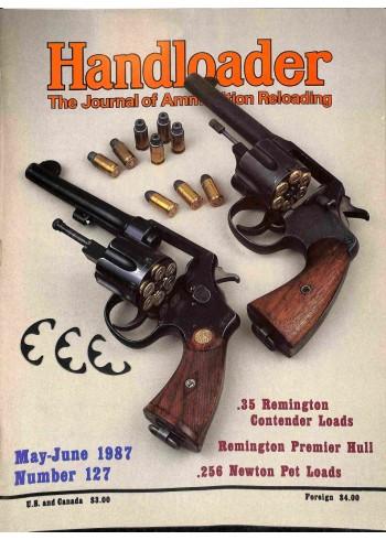 Handloader, May 1987