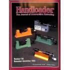 Cover Print of Handloader, November 1985
