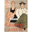 Harpers, August, 1896. Poster Print. Howard Penfield.