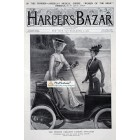 Harpers Bazar, April 7, 1900. Poster Print.