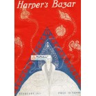 Harpers Bazar, February, 1921. Poster Print.