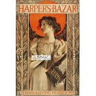 Harpers Bazar, November, 1896. Poster Print. Hinton.