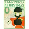 Harpers Christmas, December, 1921. Poster Print. Edward Penfield.