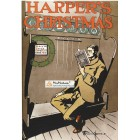 Harpers, December, 1897. Poster Print. Edward Penfield.