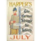 Harpers, July, . Poster Print. Edward Penfield.