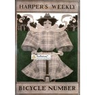 Harpers Weekly, April 11, 1896. Poster Print. Maxwell Parrish.