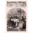 Harpers Weekly, April 16, 1864. Poster Print.