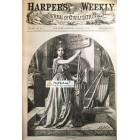 Harpers Weekly, August 15, 1868. Poster Print. Nast.