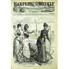 Harpers Weekly, August 3, 1878. Poster Print. G.S. Reinhart.