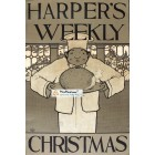 Harpers Weekly, December, 1895. Poster Print. Maxwell Parrish.