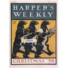 Harpers Weekly, December, 1898. Poster Print.