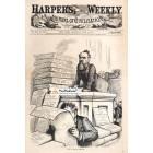 Harpers Weekly, June 3, 1876. Poster Print.