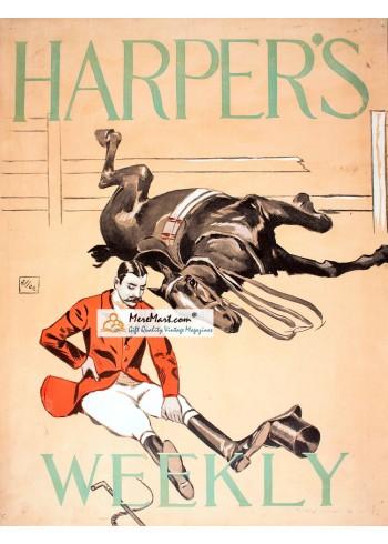 Harpers Weekly, November 12, 1894. Poster Print. Allen.