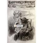 Harpers Weekly, November 3, 1866. Poster Print. Jewett.