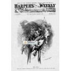 Harpers Weekly, October 24, 1896. Poster Print. W.A. Rogers.
