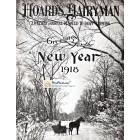 Hoards Hairyman, January, 1918. Poster Print.