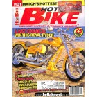 Cover Print of Hot Bike, April 2002