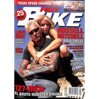 Cover Print of Hot Bike Magazine, April 2005