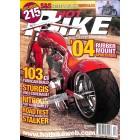 Cover Print of Hot Bike, December 2003