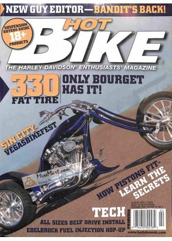Cover Print of Hot Bike, February 2005