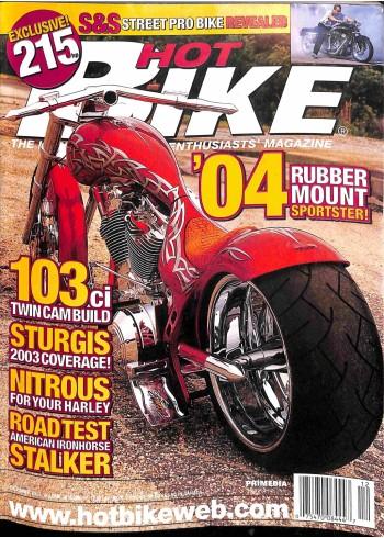 Hot Bike, December 2003