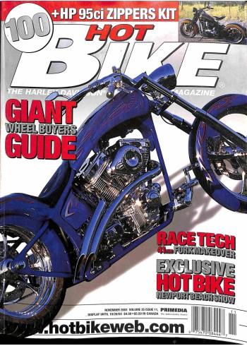 Hot Bike, November 2003