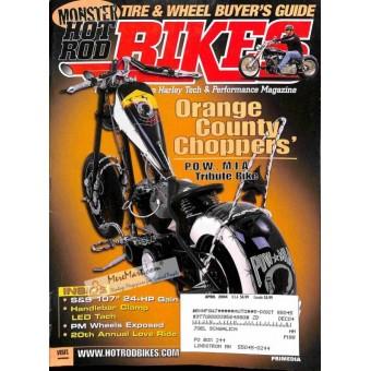 Cover Print of Hot Rod Bikes, April 2004
